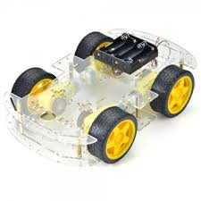 4-wheel-robotic-car-chassis