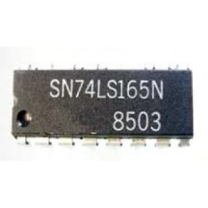 74165-8-Bit-Parallel-In-Serial-Out-Shift-Register