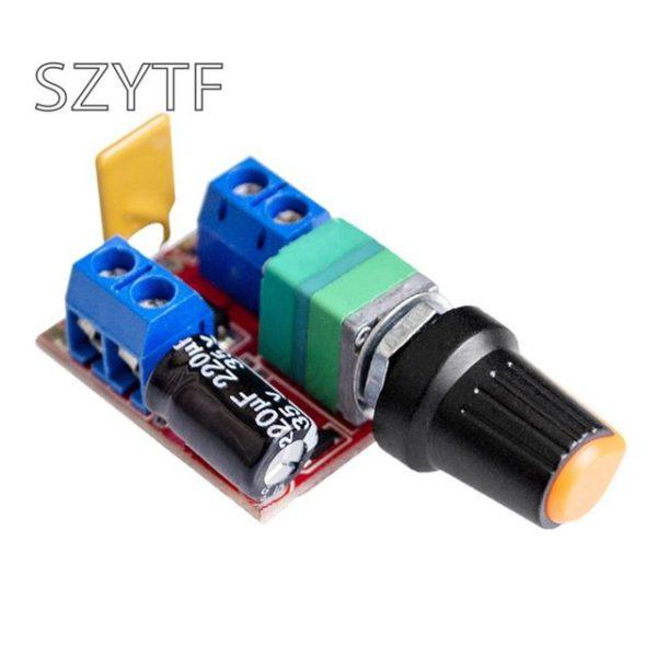 Mini-DC-Motor-PWM-Governor-3V6-12-24-35V-Speed-Switch-Ultra-Small-LED-Dimmer