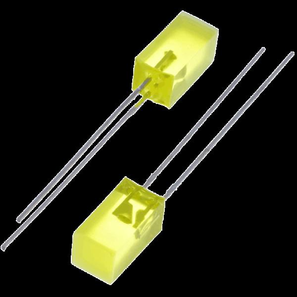 square-yellow-led