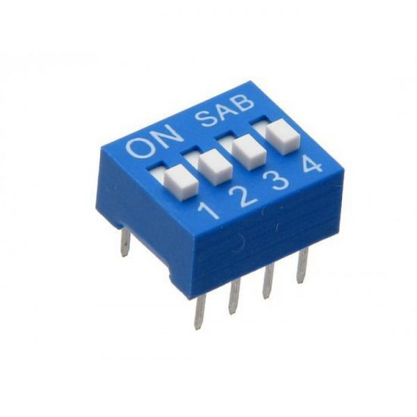Dip-Switch-4-position-4-bit
