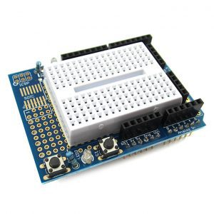 Prototype -Shield-Expansion-Board-With-SYB-170-Mini-Breadboard-Base-For-Arduino-UNO-Proto-Shield