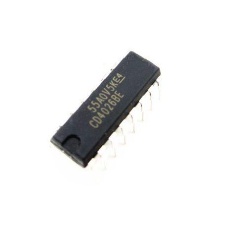 CD4026-CD4026BE-4026-IC-CMOS-Counter-Decade-Divider