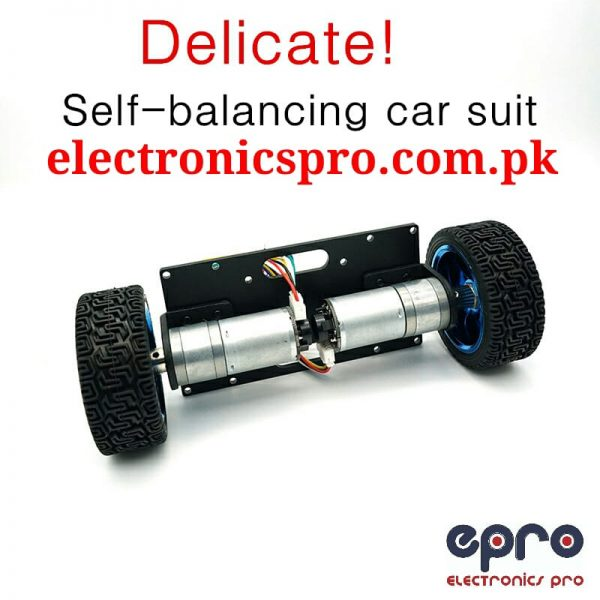 Self Balancing Robot Chassis With Wheel And Encoder Motors