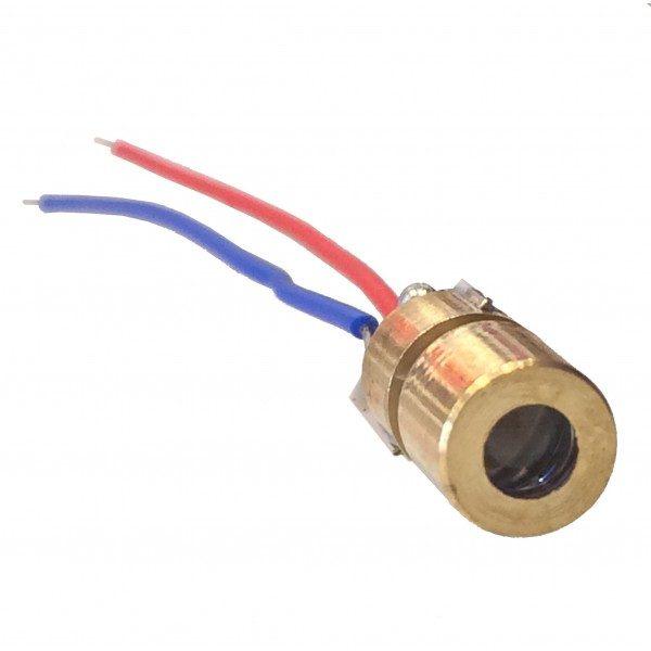 Laser Diode - 3V 5mW 650mm