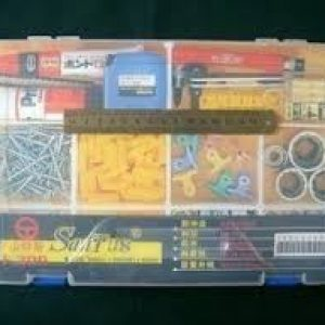Rc-model-santus-f-300-component-box-sundries-box-parts-box-storage-box