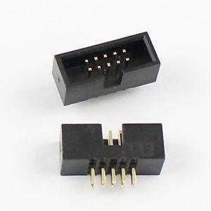 10-Pin-2x5-2.54mm-Box-Header-IDC-Male-Socket-Straight