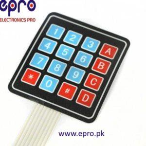 4X4 Matrix Keypad in Pakistan