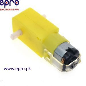 5V DC Gear Motor for Smart Car Robot in Pakistan