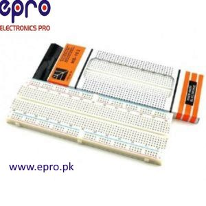 830 Points Breadboard MB102 in Pakistan