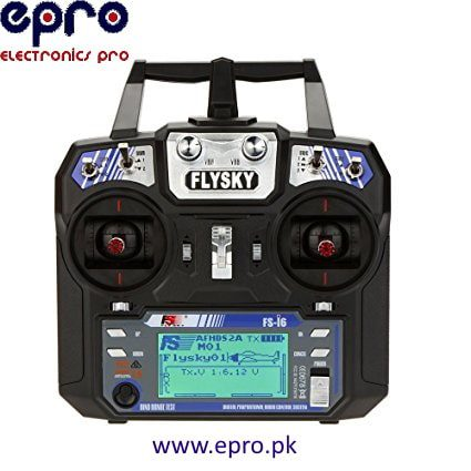 Radio System Transmitter for RC Helicopter