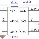 bh1750 light sensor circuit diagram