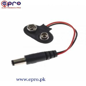 Male DC Barrel Jack (9v & 2.1 mm)