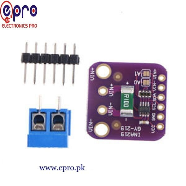 INA219 Bi-Direction DC Power Supply Sensor GY-219 Module in Pakistan
