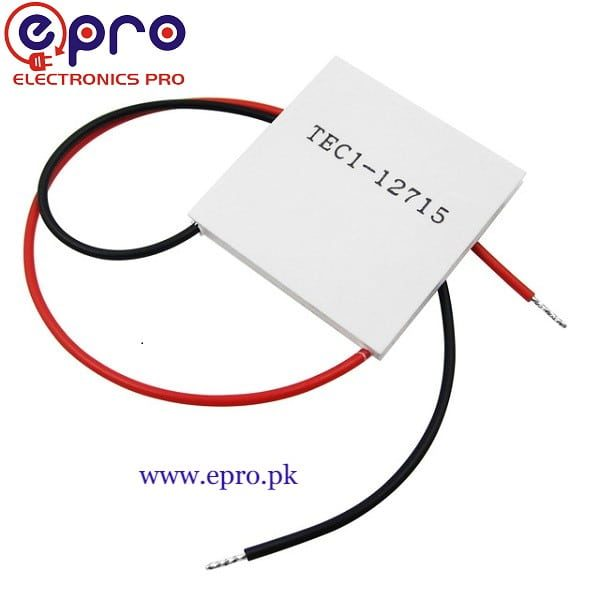 Peltier 12715 Thermoelectric Cooler Plate Module In Pakistan