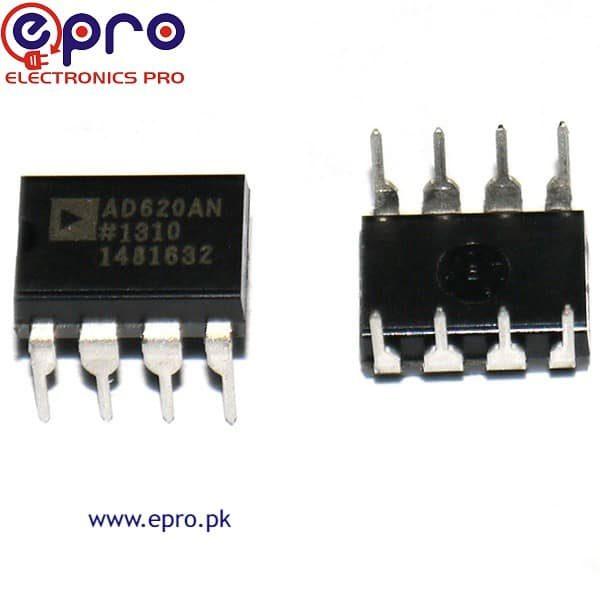 AD620 Instrumentation Amplifier in Pakistan