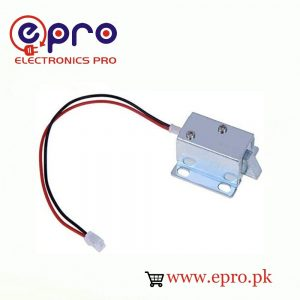 DC Mini Electric Solenoid Door Lock 12V in Pakistan