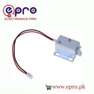 DC Mini Electric Solenoid Door Lock 12V in Pakistan