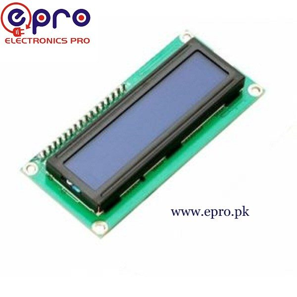 LCD 16X2 1602 Blue Color in Pakistan