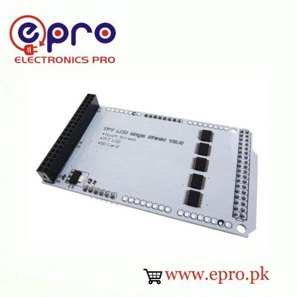 TFT LCD Shield of Arduino Mega in Pakistan