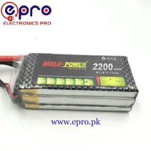 3s Lipo Battery 11.1V 2200 mah 30C in Pakistan