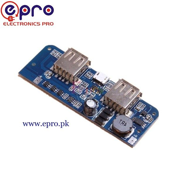 Power Bank Charging Module 5V 1A 2.1A in Pakistan