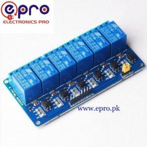 6 Channel Relay Module 5V in Pakistan