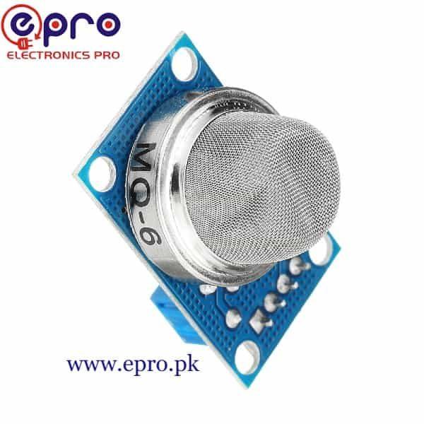 MQ 6 Liquefied and LPG Gas Sensor in Pakistan