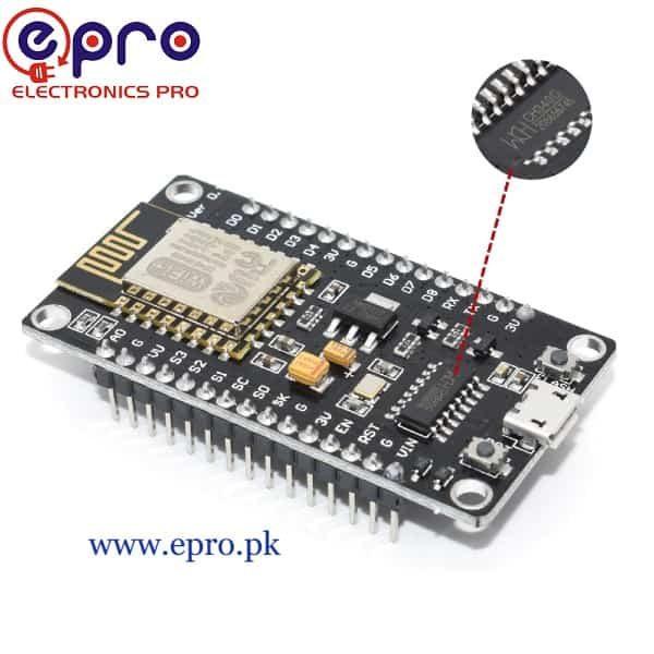 CH340 Lolin NodeMCU ESP8266 WiFi Board in Pakistan