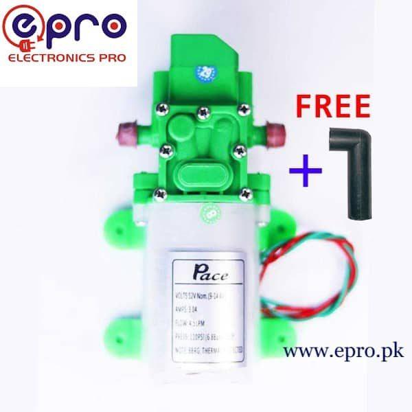 Pace Motor Diaphragm Pump 12VDC in Pakistan