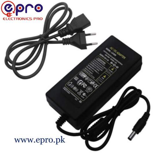 12V 5A Power Supply with Power Lead in Pakistan