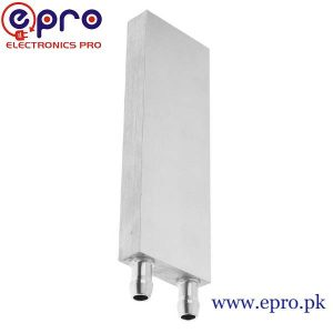 120x40x12mm Aluminum Water Cooling Block in Pakistan