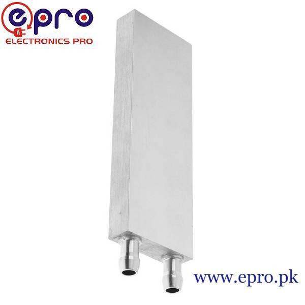 120x40x12mm Aluminum Water Cooling Block in Pakistan