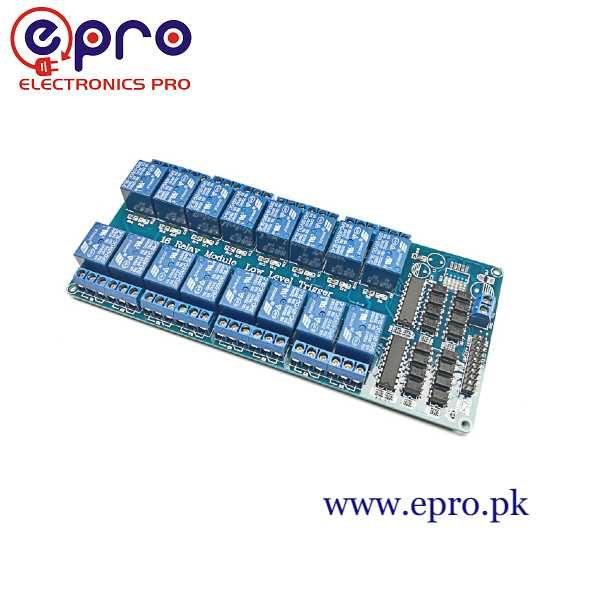 16 Channel 5V Relay Module in Pakistan