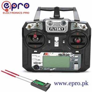 Flysky FS-i6X 2.4GHz 6CH AFHDS 2A RC Transmitter with FS-iA10B 2.4GHz 10CH Receiver in Pakistan