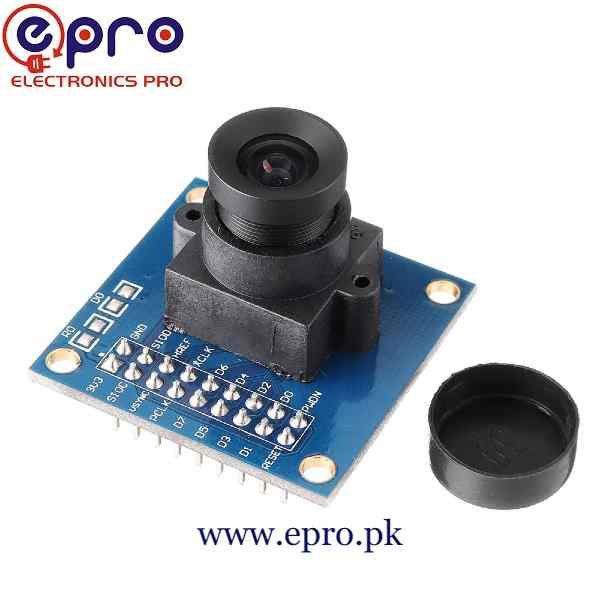 Arduino Camera OV7670 640 x 480 VGA CMOS Camera Image Sensor Module in Pakistan