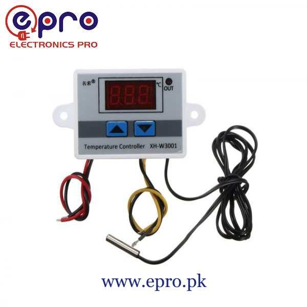 W3001 Digital Temperature Controller AC220V 10A in Pakistan