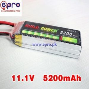 3s Lipo Battery 11.1V 5200 maH 30C in Pakistan