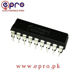 LM3914 IC Dot to Bar Display Driver in Pakistan