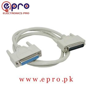 Male to Female DB25 25 Pin Parallel Port Cable MACH3 Cable in Pakistan