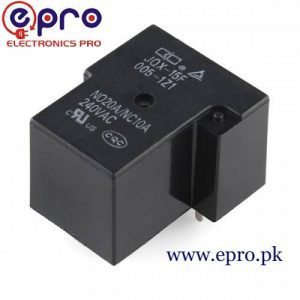 SPDT T90 L TYEPE RELAY 12v 30 Amp in Pakistan