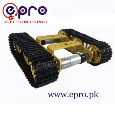 T101 Tank Tracked Chassis Smart Robot Contest Grad in Pakistan