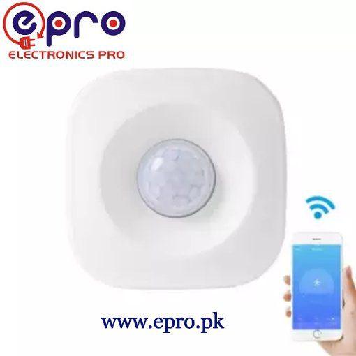 WIFI PIR Motion Sensor Wireless Passive Infrared Detector Burglar Alarm Sensor Tuya APP Control Compatible with IFTTT Smart Home