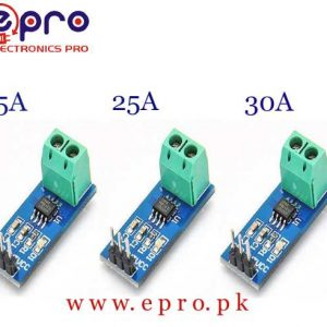 Range Current Sensor Module ACS712 - 5A, 20A, 30A in Pakistan