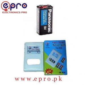 9V Rechargeable Battery and Super Charger in Pakistan