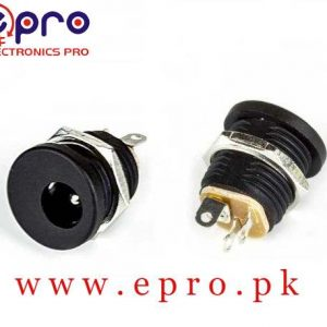 3 Pin DC Power Jack PCB Mount Female Connector in Pakistan