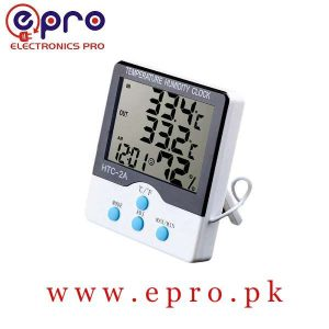 HTC-2A HTC2A Digital Clock Electronic Temperature Hydrometer Thermometer in Pakistan