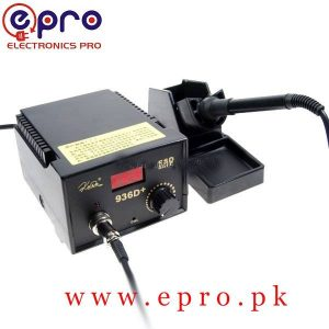Soldering Iron Station Adjustable Temperature ESD Safe KADA 936D+ in Pakistan