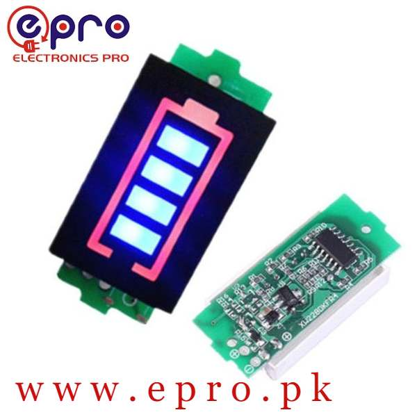 Lithium Battery Capacity Level Indicator Module in Pakistan