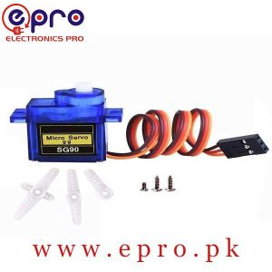TowerPro SG90 SG 90 360 Degree Servo Motor in Pakistan